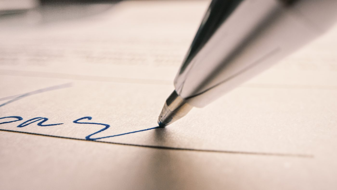 Culminación de contratos comerciales